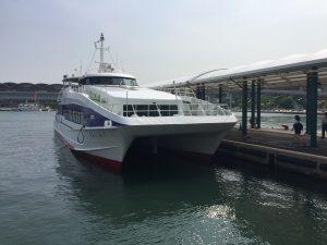 志賀島ゆき市営渡船