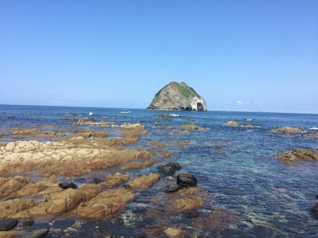 博多から30分で、素晴らしくキレイな海に出会える。玄界島。